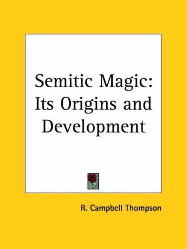 Download Semitic Magic