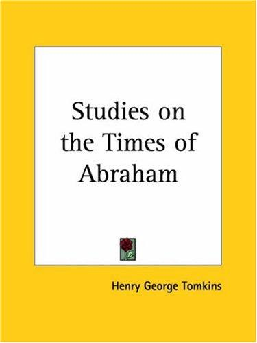 Download Studies on the Times of Abraham