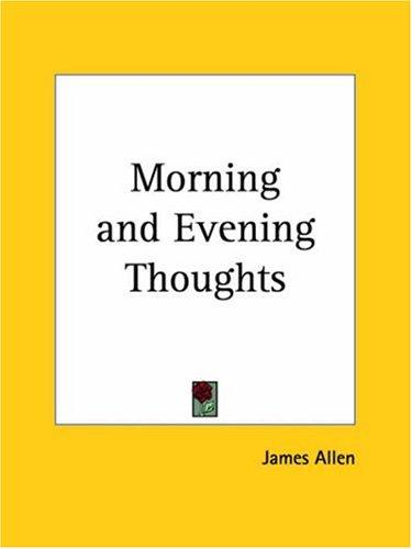Download Morning and Evening Thoughts