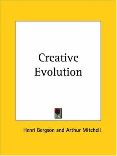 Download Creative Evolution