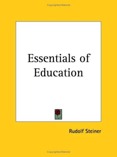 Download Essentials of Education