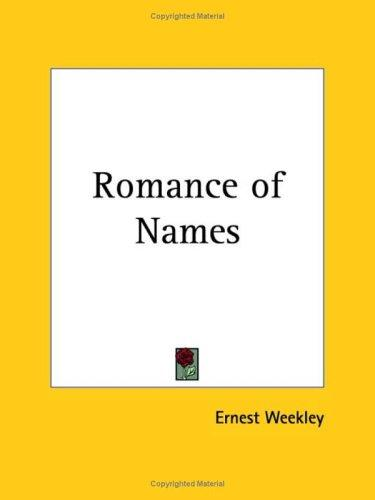 Download Romance of Names
