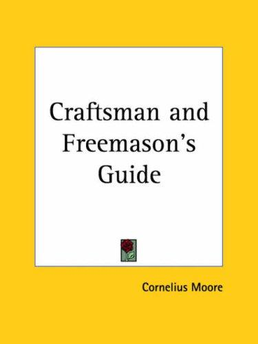 Download Craftsman and Freemason's Guide