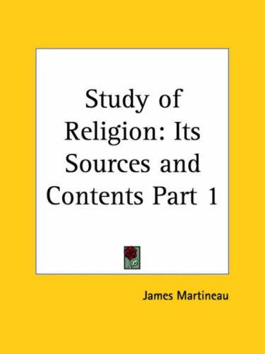 Download Study of Religion