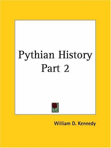 Download Pythian History, Part 2