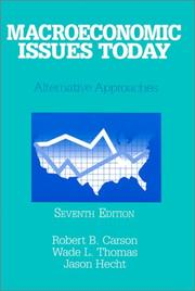 Thumbnail of Macroeconomic Issues Today: Alternative Approaches
