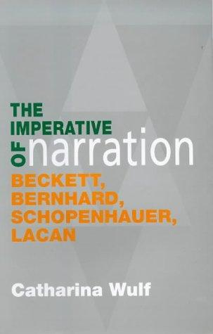 Download The imperative of narration