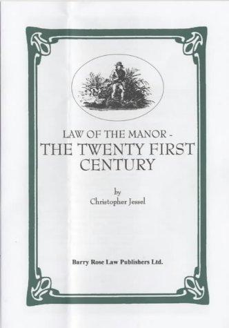 Download Law of the manor