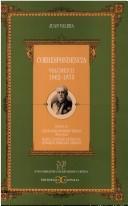 Correspondencia (Nueva Biblioteca de Erudicion y Critica)