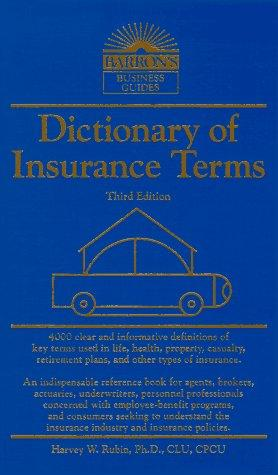 Download Dictionary of insurance terms