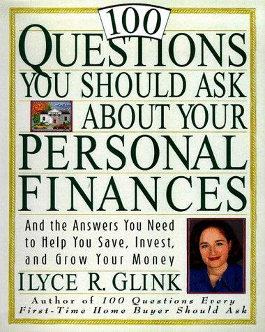 Download 100 questions you should ask about your personal finances