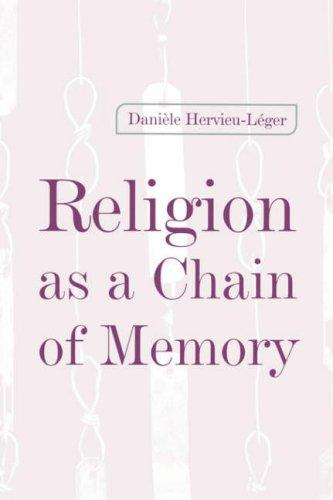 Download Religion as a Chain of Memory