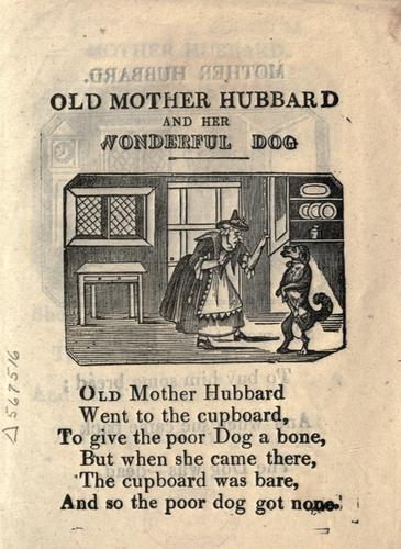 Download The history of Old Mother Hubbard and her dog.