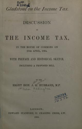 Download Gladstone on the income tax.