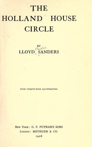 Download The Holland House circle