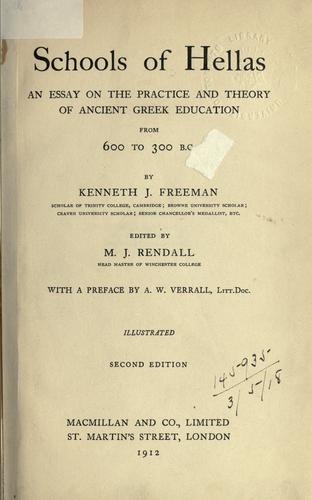 Download Schools of Hellas