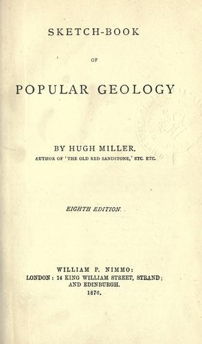 Download Sketch-book of popular geology.
