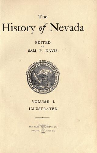 The history of Nevada