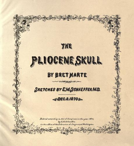 The  Pliocene skull
