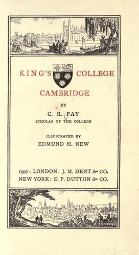 King's college, Cambridge by Fay, C. R.