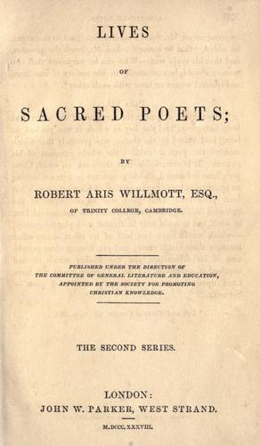 Download Lives of sacred poets.
