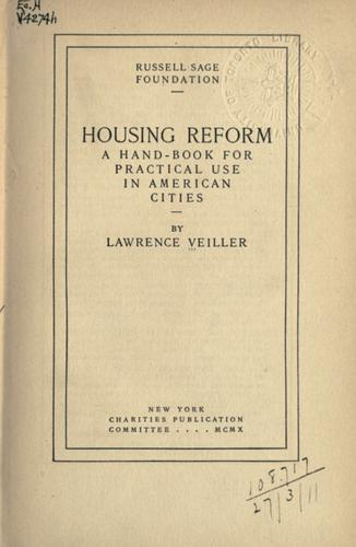 Download Housing reform.