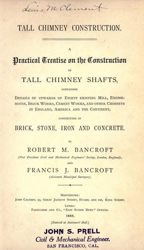 Tall chimney construction