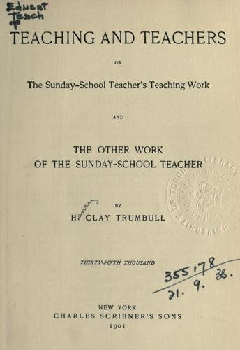 Download Teaching and teachers