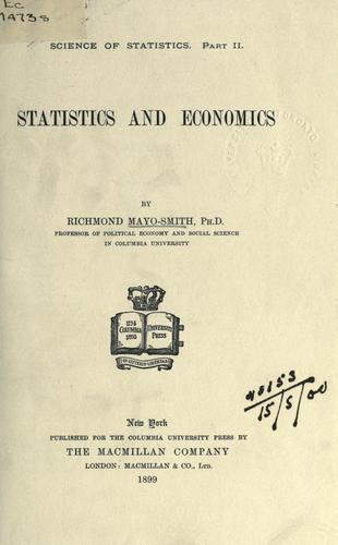 Download Statistics and economics.