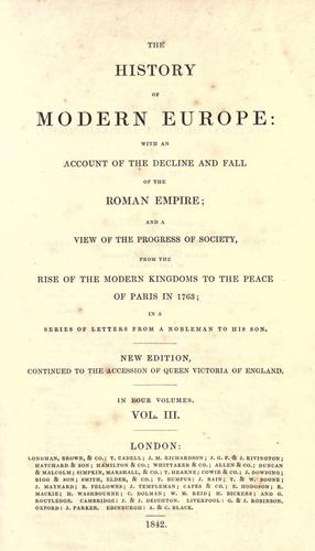 Download The history of modern Europe