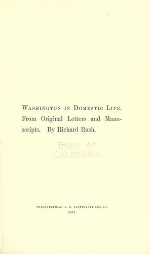 Download Washington in domestic life.