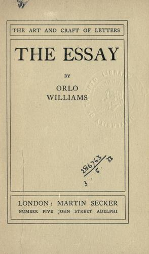 The essay.