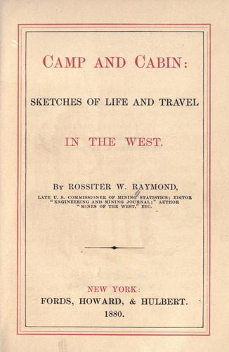 Download Camp and cabin