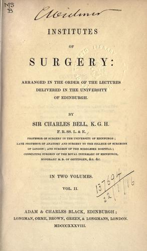 Download Institutes of surgery