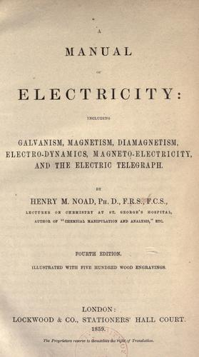 Download Manual of electricity