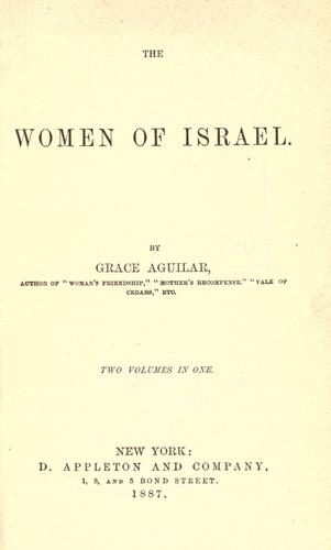 The women of Israel .