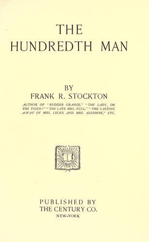 Download The hundredth man.