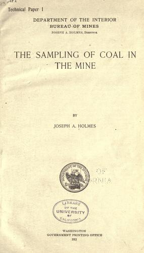 Download The sampling of coal in the mine