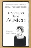 critics on jane austen by judith oneill