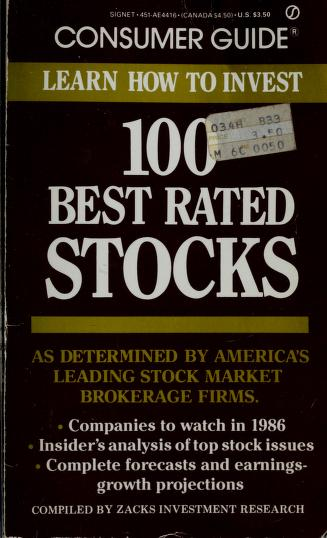 100 Winning 1986 Sto by Consumer Guide editors