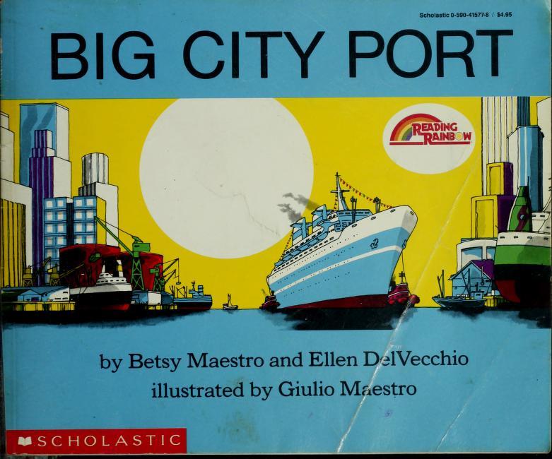 Big City Port (Reading Rainbow) by Betsy Maestro