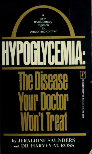 Cover of: Hypoglycemia | Ross Saunders