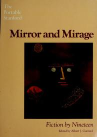 Cover of: Mirror and mirage   edited by Albert J. Guerard.