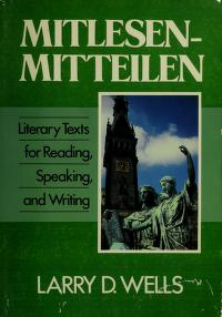 Cover of: Mitlesen Mitteilen | Larry D. Wells