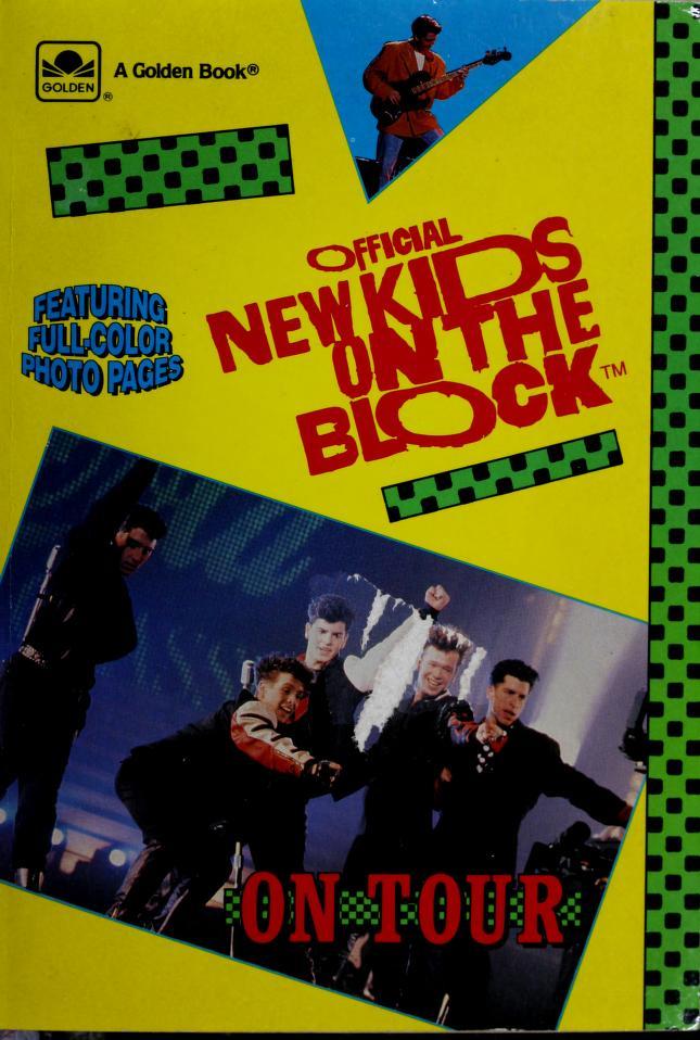On Tour Bk New Kids On Block by Golden Books
