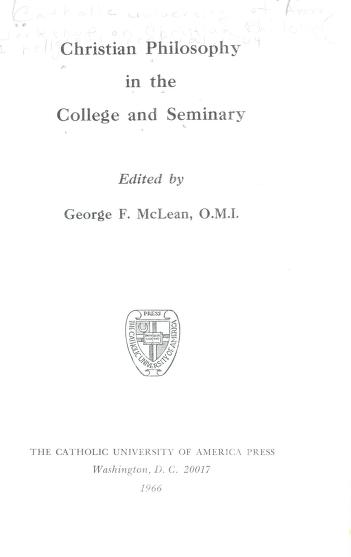 Cover of: Philosophy and the integration of contemporary Catholic education | Workshop on Philosophy and the Integration of Contemporary Catholic Education (1961 Catholic University of America)