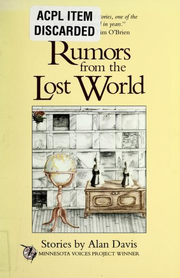 Cover of: Rumors from the lost world | Alan Davis