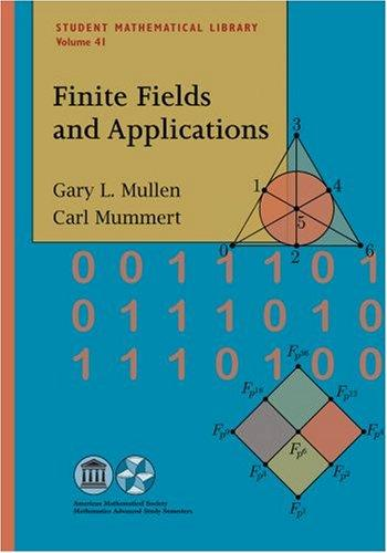 Image 0 of Finite Fields and Applications (Student Mathematical Library)