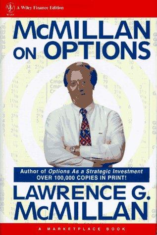 McMillan on options by L. G. McMillan