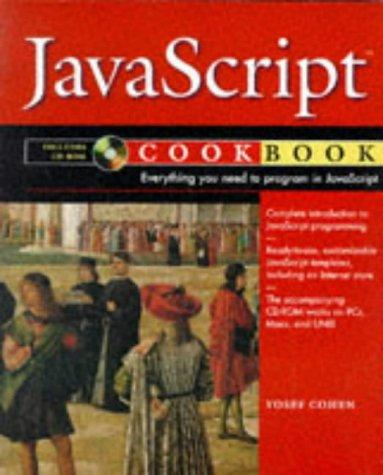JavaScript cookbook by Yosef Cohen